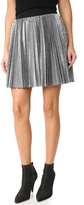 Alice + Olivia Danica Sunburst Pleated Miniskirt