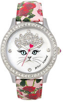 Betsey Johnson Princess Kitty Watch