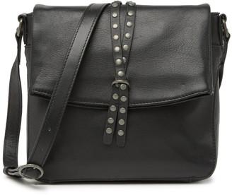 Lucky Brand Raldi Leather Studded Crossbody Bag