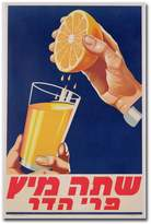 "KitchenArt ""A Glass of Orange Juice, 1947"" 30"" x 47"" Canvas Art"