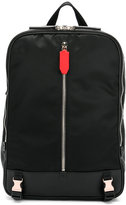 Neil Barrett zipper buckle backpack