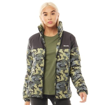 Bench Womens Anniston Jacket Camo