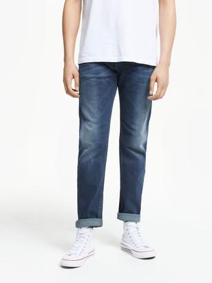 Diesel Thommer Slim Fit Stretch Jeans, Blue/Green 084BU