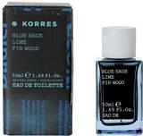 Korres Blue Sage Lime Fir Wood Eau De Toilette 50ml