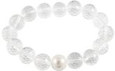 Bella Pearl Pearl & Glass Bead Stretch Bracelet