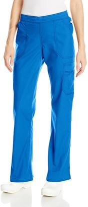 Dickies Women's Plus Size EDS Signature Stretch Mid-Rise Moderate Flare Leg Pull-On Pant