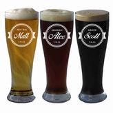 Etsy Pilsner Glass, Personalized Groomsmen Gift, Beer Mugs, Personalized Beer Glasses, Etched Beer Glasse