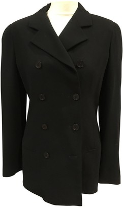 Calvin Klein Collection Black Wool Jacket for Women