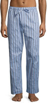 Derek Rose Mayfair 70 Striped Lounge Pants, Light Blue