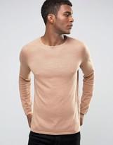 Hugo By Hugo Boss Jumper Cotton Cashmere Silk