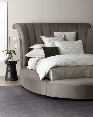 Haute House Katya Round California King Platform Bed