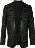 Rick Owens embroidered blazer