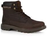 Caterpillar Dark Brown 'bridgeport' Ankle Boots