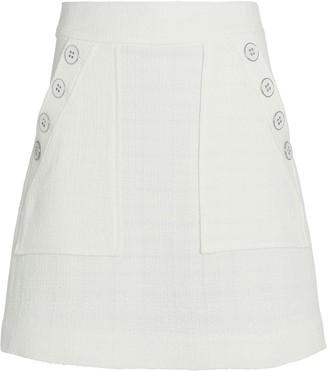 Veronica Beard Bond Tweed Mini Skirt