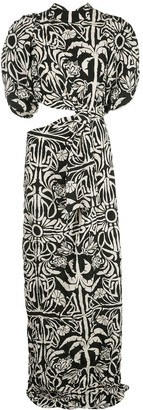 Johanna Ortiz Tropical Mola maxi dress