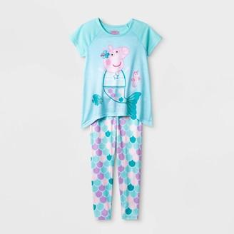 Peppa Pig Girls' 2pc Pajama Set -