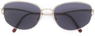 Christian Dior Pre-Owned metal frame sunglasses