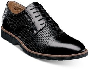 Stacy Adams Men's Ellery Textural Brogue Oxfords Men's Shoes