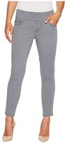 Jag Jeans Amelia Pull-On Slim Ankle Pants in Bay Twill (Black) Women's Casual Pants