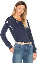 NSF Esquival Long Sleeve Top in Blue