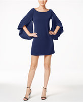 Jessica Simpson Bow-Back Flutter-Sleeve Dress