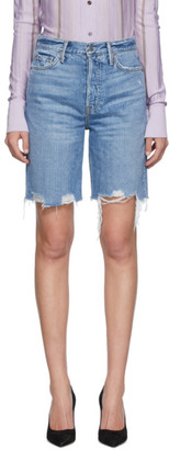 GRLFRND Blue Denim Marjan Shorts