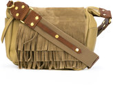 Isabel Marant fringed Beaty shoulder bag - women - Lamb Skin/Suede - One Size