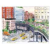 "Michael Storrings The Highline NYC Print, 11"" x 14"""
