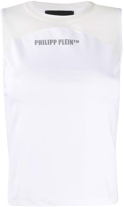 Philipp Plein Logo Print Tank Top