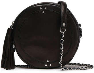 Jerome Dreyfuss Tassel-trimmed Leather Shoulder Bag