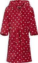Playshoes Dots Fleece Hooded Girl's Loungewear