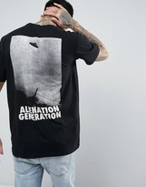Antioch Alien Generation Big Back Print T-Shirt