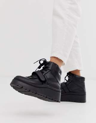 Call it SPRING by ALDO Rollerbabes platform chunky sneakers in black
