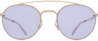 Mykita+Maison Margiela Round Frame Tinted Sunglasses