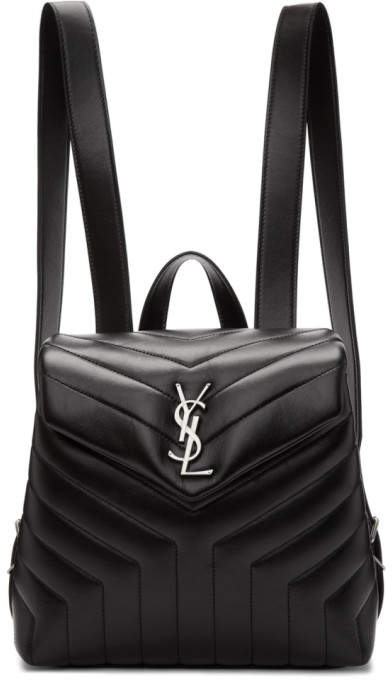 54ef6c8b Black Small Loulou Backpack