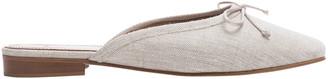 Flattered Malva Linen Mules
