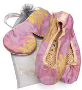 Holistic Silk Eye Mask Slipper Gift Set - Rose (Various Sizes) - L