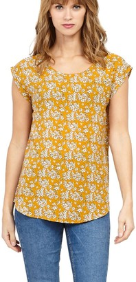 M&Co Izabel ditsy floral print top