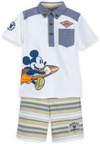 Disney Mickey Mouse Surf Team Shirt and Shorts Set for Boys