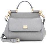 Dolce & Gabbana Miss Sicily Micro Leather Shoulder Bag