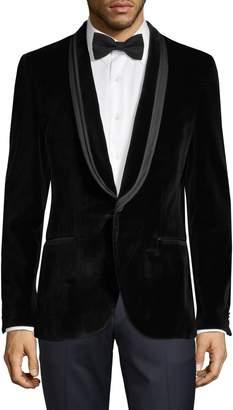 HUGO BOSS Arondo Velvet Tuxedo Jacket