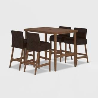 Cosco SmartWick 5pc Patio Bar Table & Stools Dining Set