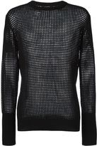Unconditional mesh long sleeved T-shirt