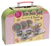 Schylling Children's Tin Tea Set In Case
