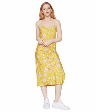 BCBGeneration Women's Sleeveless Midi Woven Dress