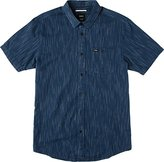 RVCA Men's Descent Short Sleeve Woven Shirt