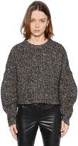 Etoile Isabel Marant Multicolor Slub Wool Blend Sweater