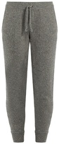 Brunello Cucinelli Sequin-embellished cashmere-blend track pants