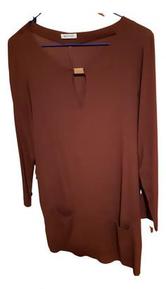 Masscob Brown Viscose Dresses