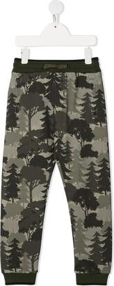 Dolce & Gabbana Kids Forest-Print Track Pants
